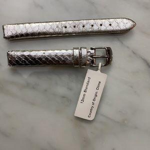 Philip Stein 4-SNS Genuine Snake Watch Band 12mm